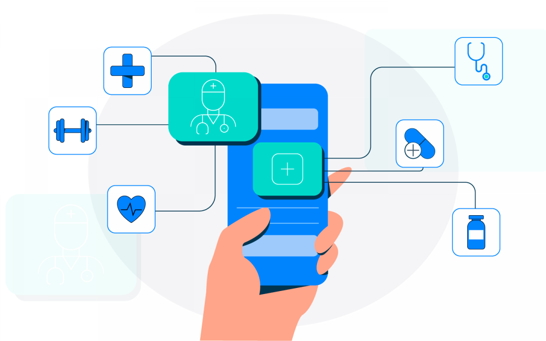Benefits of app-based healthcare services