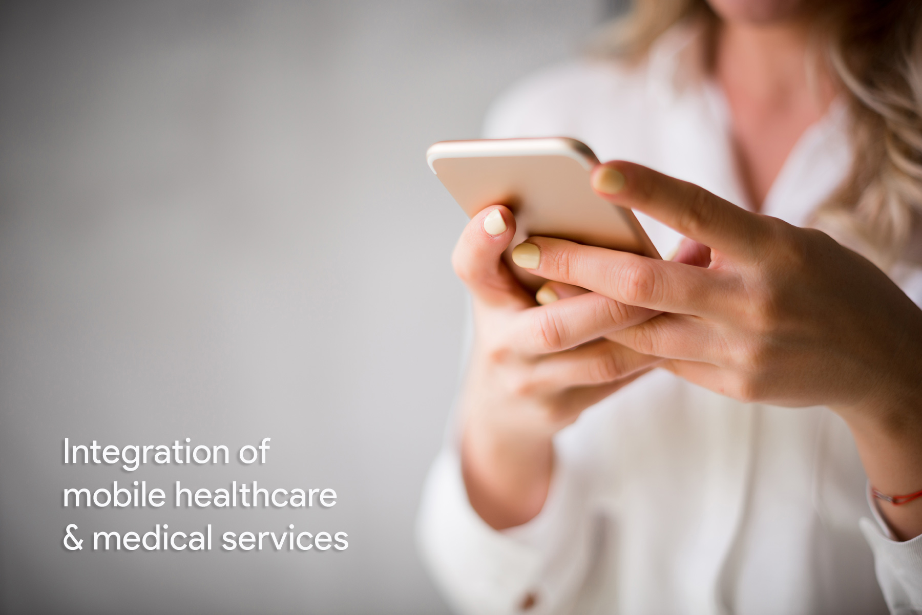 Integration of mobile healthcare services