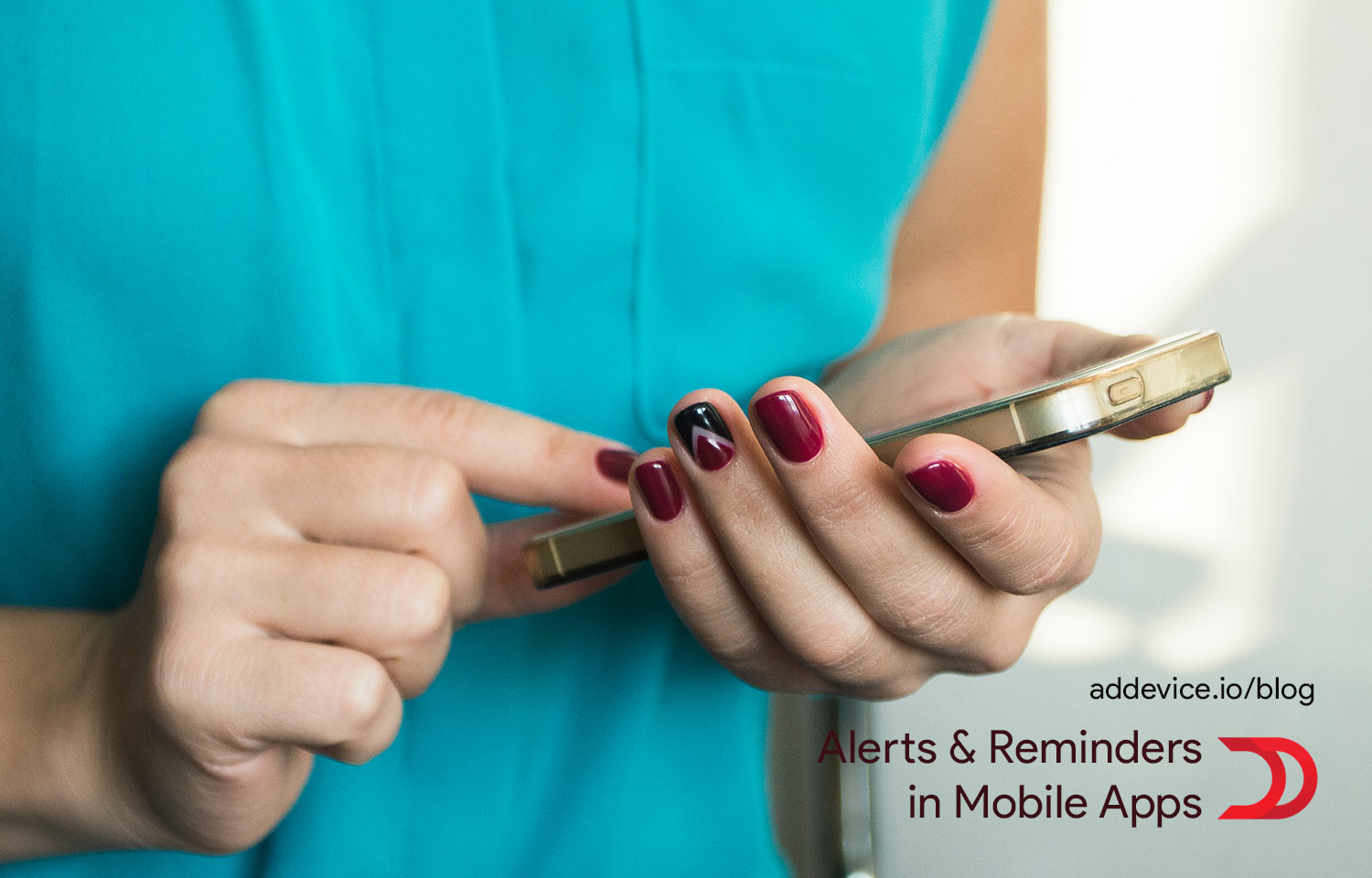 Alerts & reminders in mobile apps