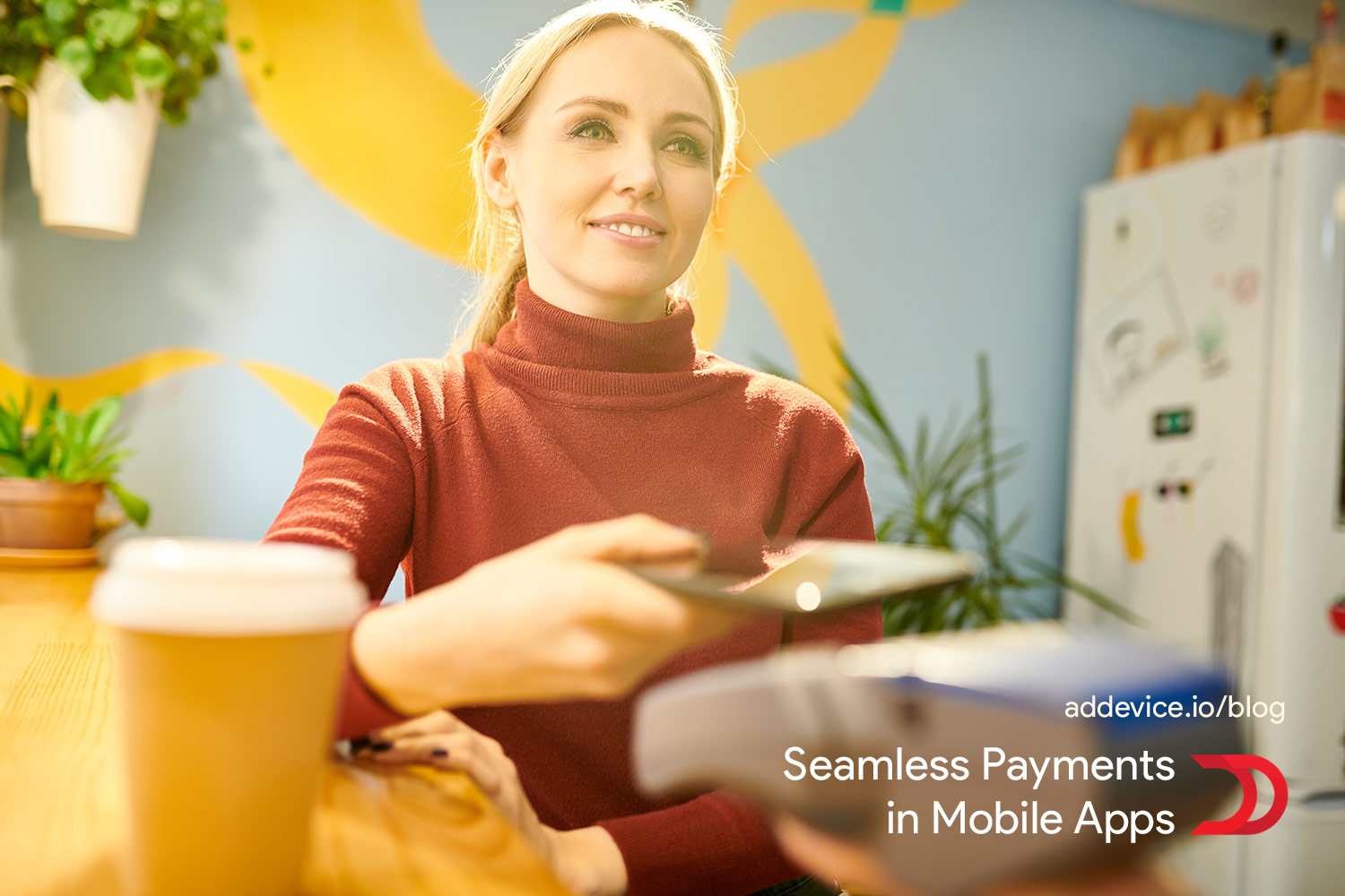 Seamless payments in mobile apps