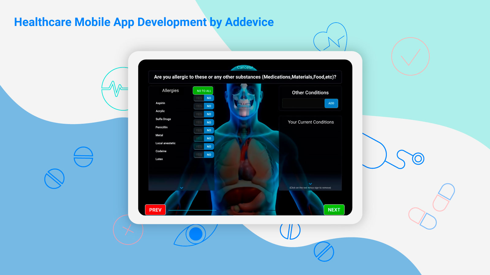 Healthcare Mobile App Development by Addevice: Enlive Dental