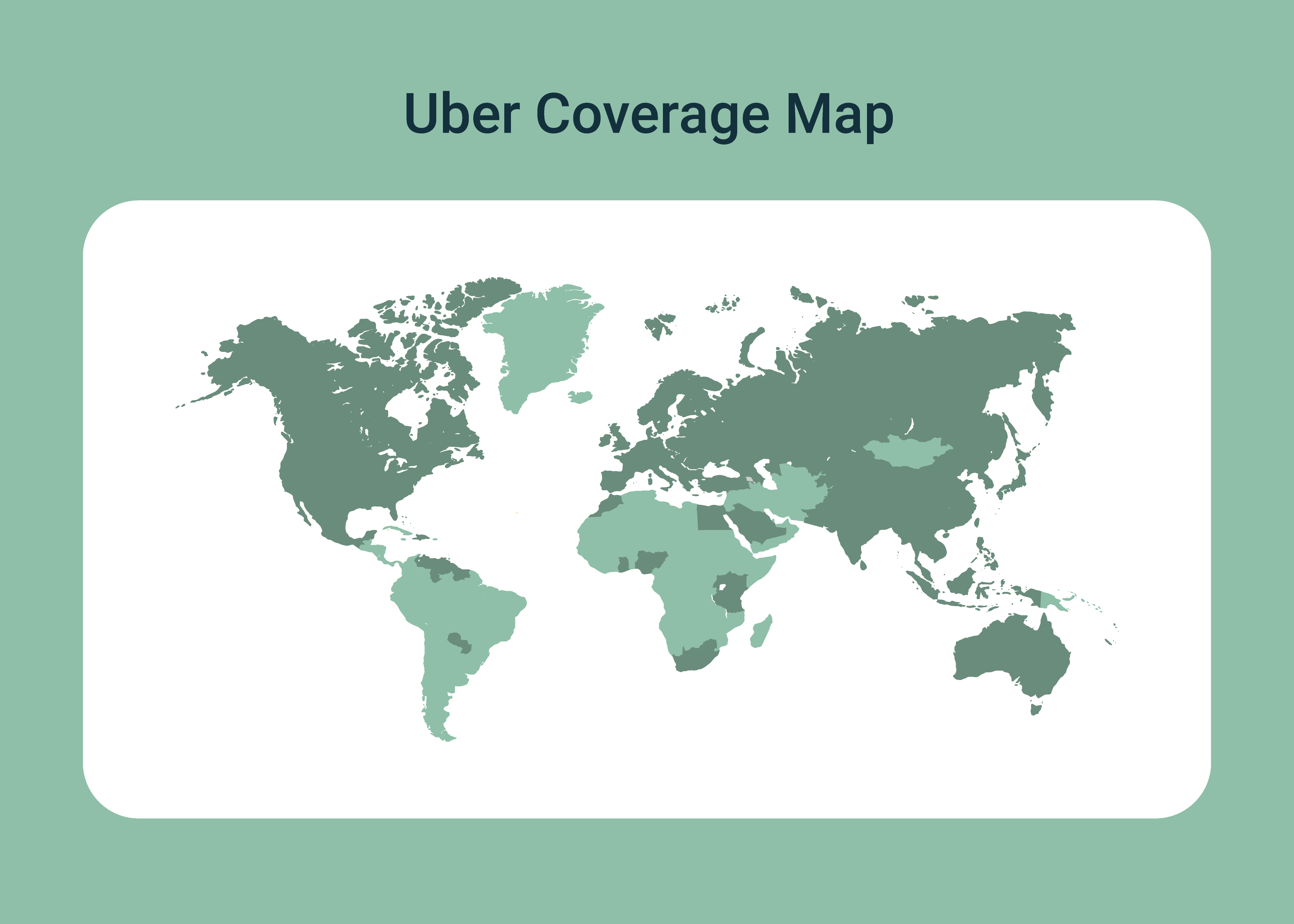 Countries Where Uber is Possible