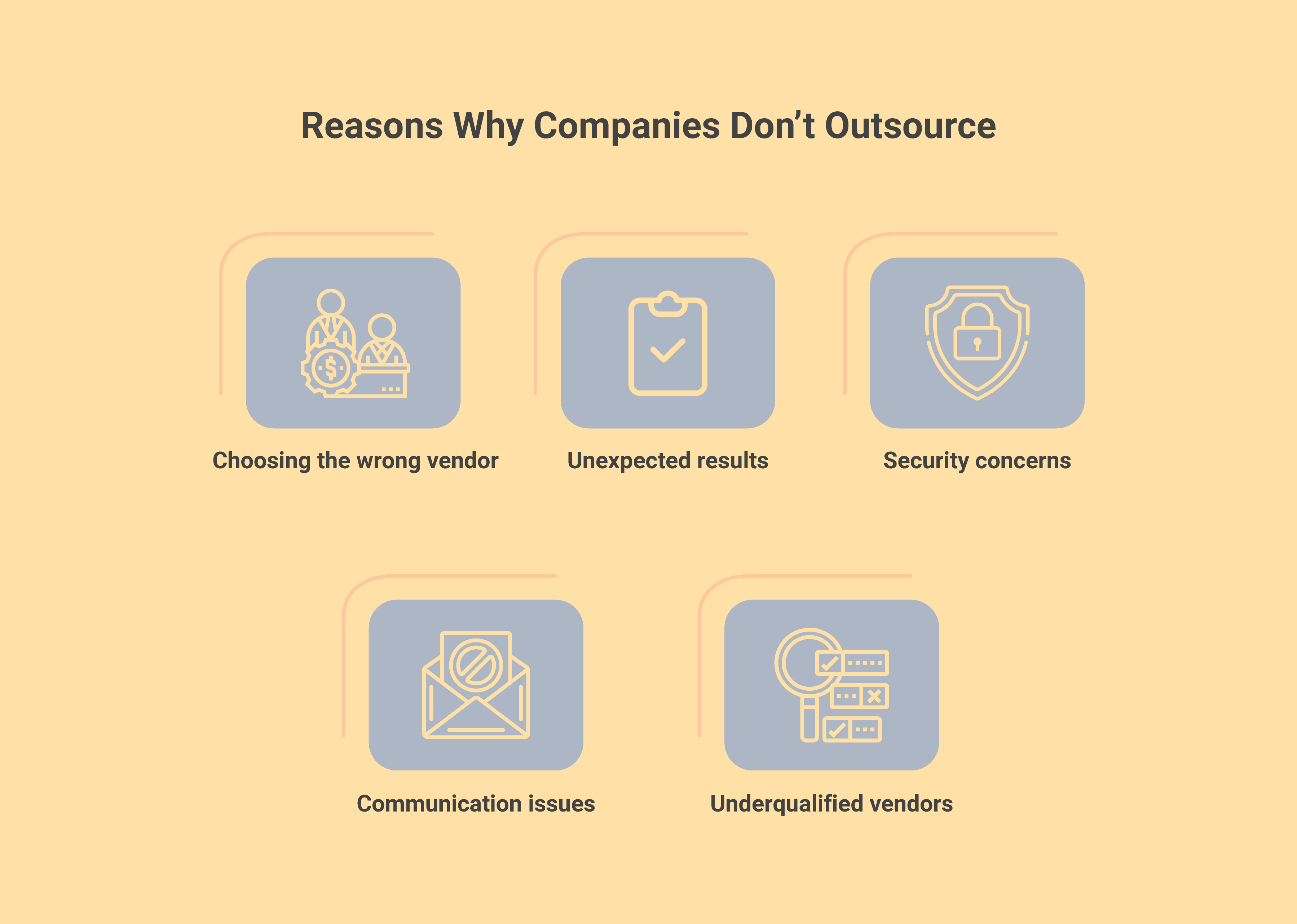 Why Companies Hesitate to Outsource App Development