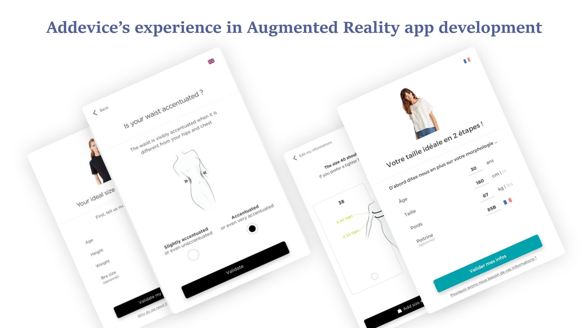 Addevice's Experience in Augmented Reality App Development