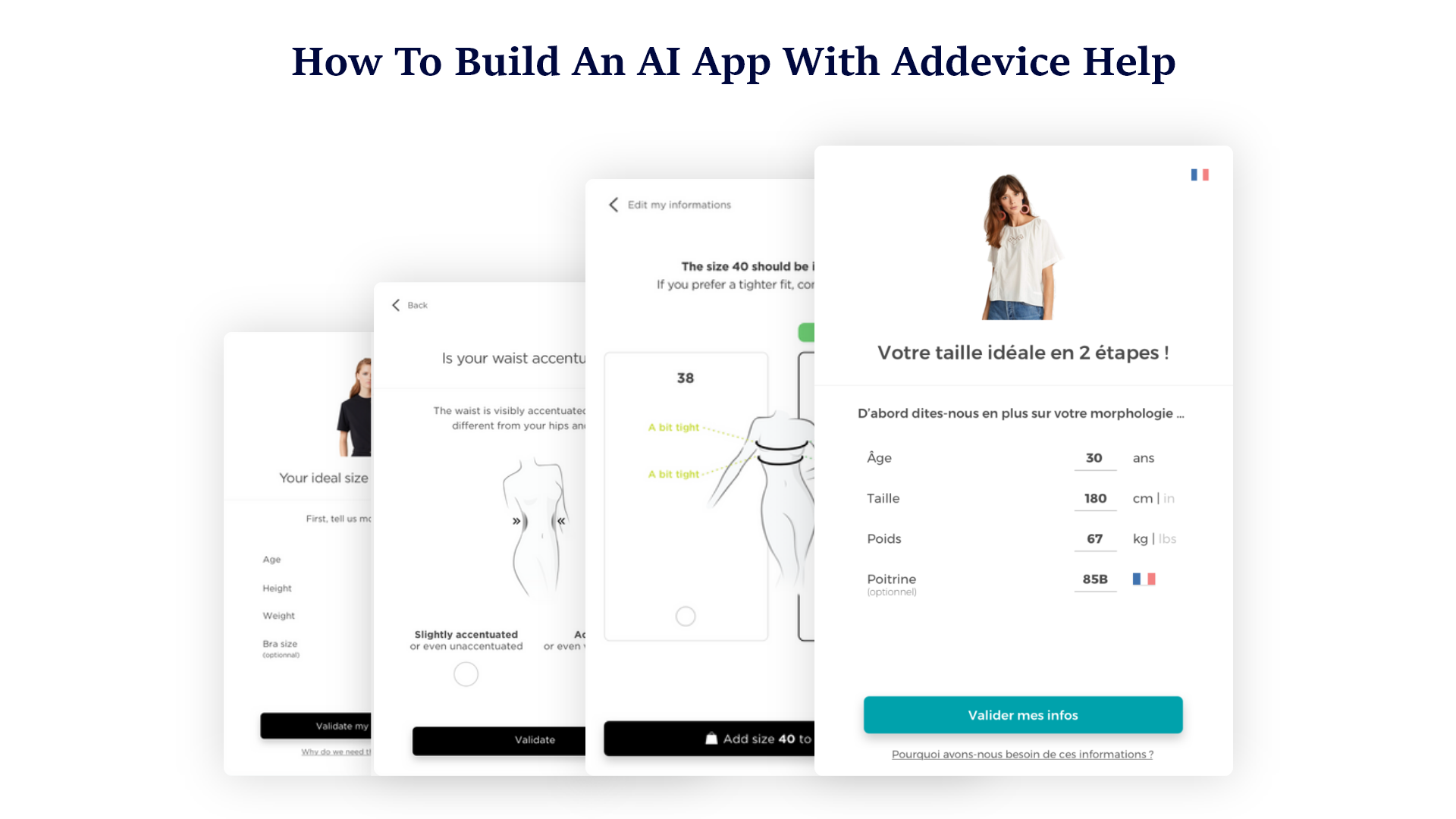 How to Build an AI App with Addevice Help