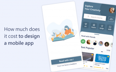 How much does it cost to design a mobile app in 2021?